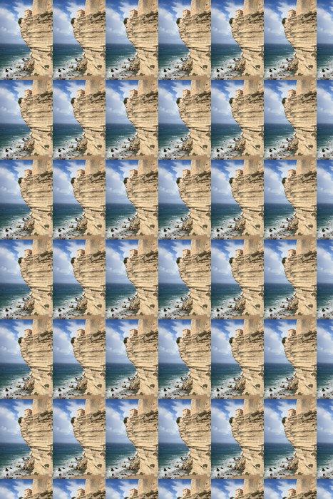 Vinylová Tapeta Bonifacio, Korsika - Voda