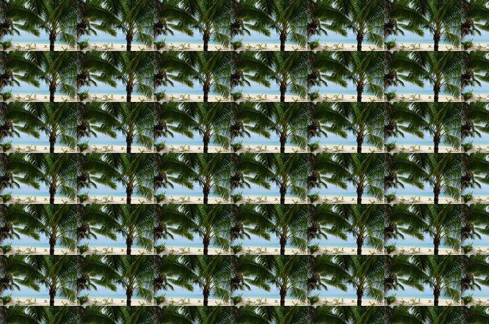 Vinylová Tapeta Krajina Moturakau Island v Aitutaki Lagoon Cookovy ostrovy - Oceánie