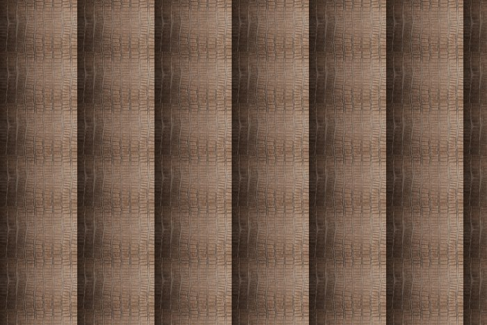 Vinylová Tapeta Přírodní hnědá kůže foto pozadí textury - Struktury