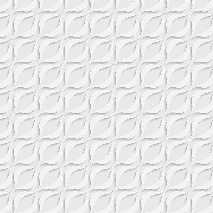 Vinylová Tapeta Seamless wave pattern - Pozadí