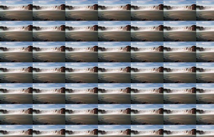 Vinylová Tapeta Godafoss vodopády s hory na Islandu - Témata