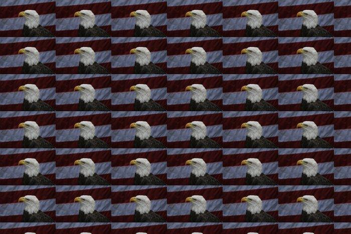 Vinylová Tapeta Orel, pták, zvíře, vlajky, postoj, Homosassa pružiny, - Témata