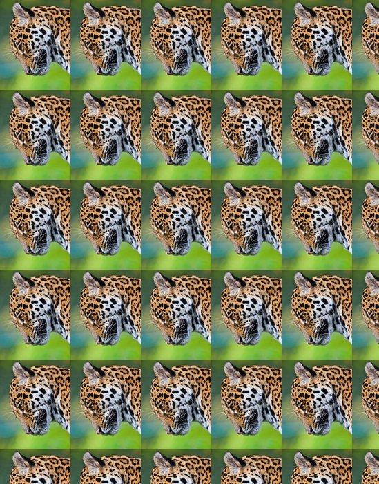 Vinylová Tapeta Jaguar - Panthera onca - Savci