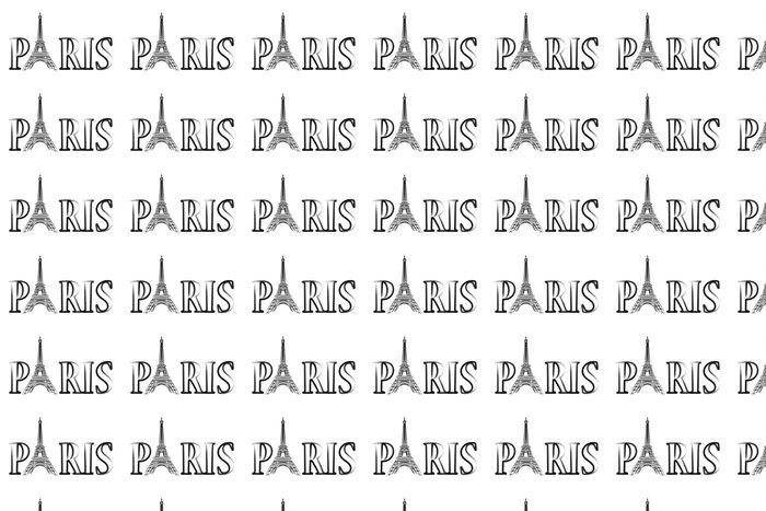 Vinylová Tapeta Paříž - Eiffelova věž - Evropská města