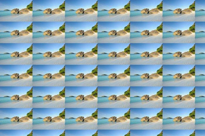 Vinylová Tapeta Thajsko. Similanské ostrovy. Písečná pláž, klidné modré moře - Voda