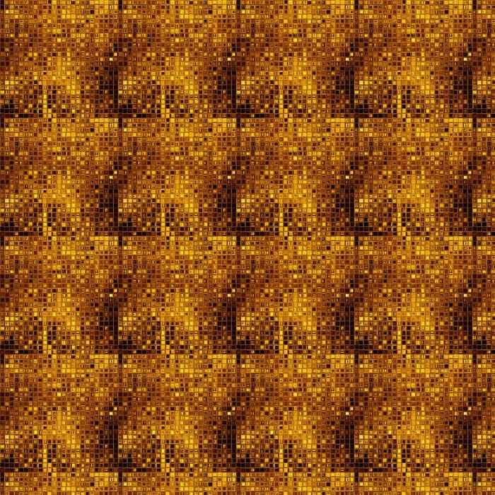 Vinylová Tapeta Luxusní zlaté mozaiky - Struktury