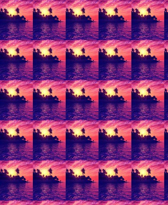 Vinylová Tapeta Krásný západ slunce - Nebe