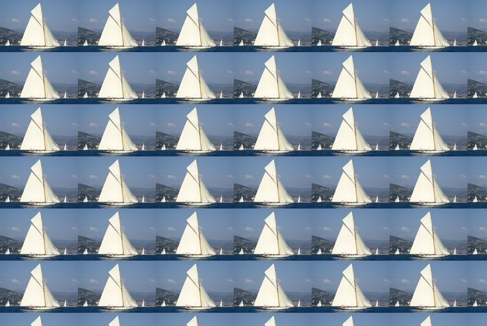 Vinylová Tapeta Vintage plachetnice - Vodní sporty