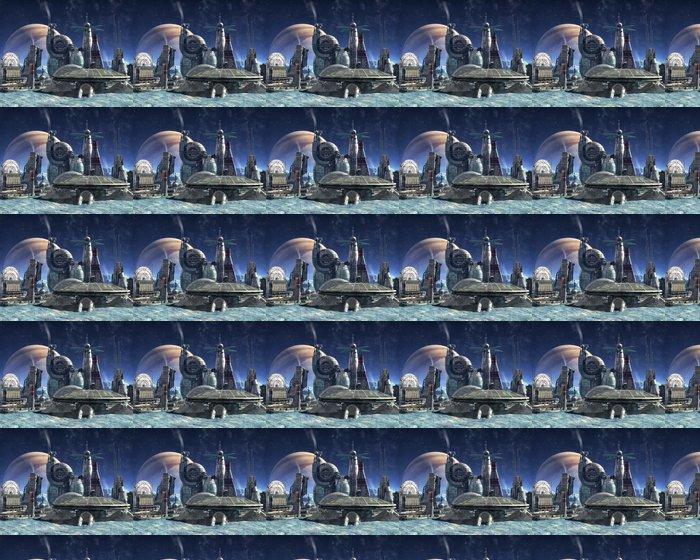 Vinylová Tapeta Jupiter moon kolonie - Styly