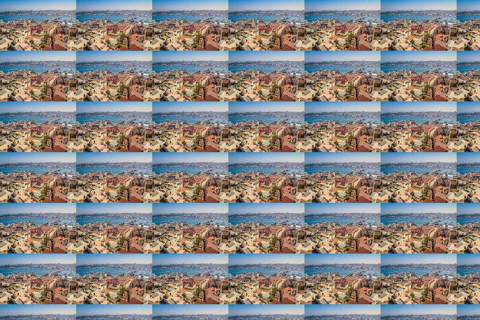 Vinylová Tapeta Istanbul - výhled na město - Evropa