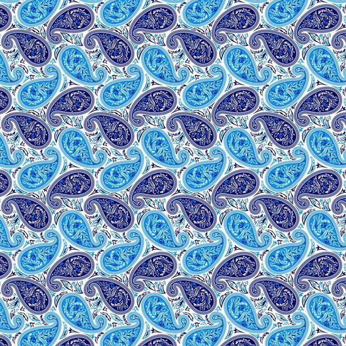 tapete orientalisches nahtloses muster paisleys - Tapete Orientalisches Muster