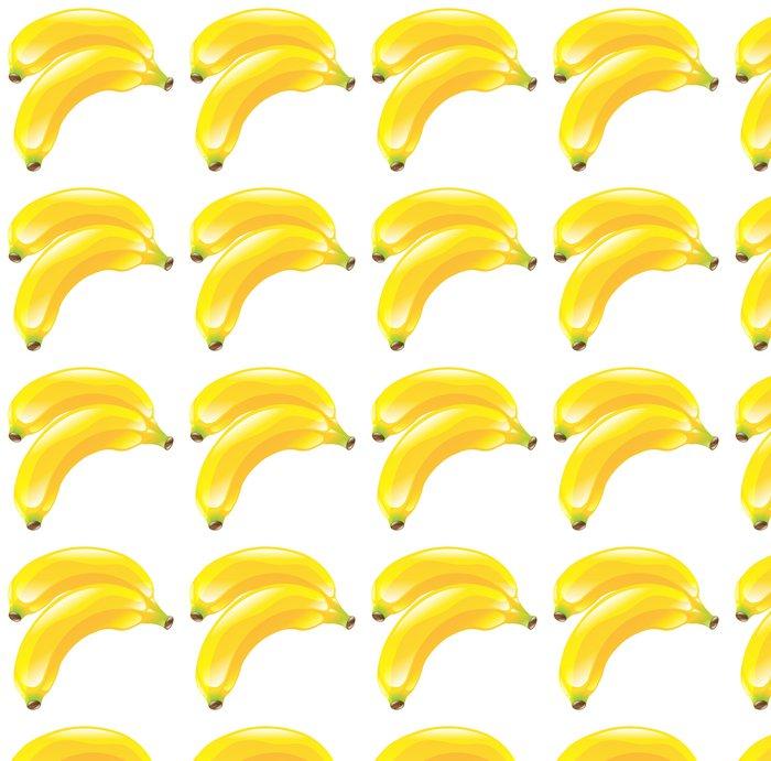 Vinylová Tapeta Ilustrace banán ovoce ikony kliparty - Značky a symboly
