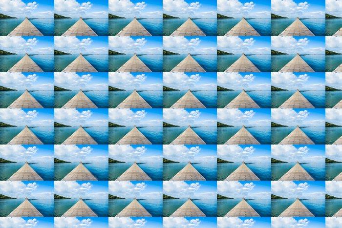 Vinylová Tapeta Krásná Jetty v Thajsku - Prázdniny