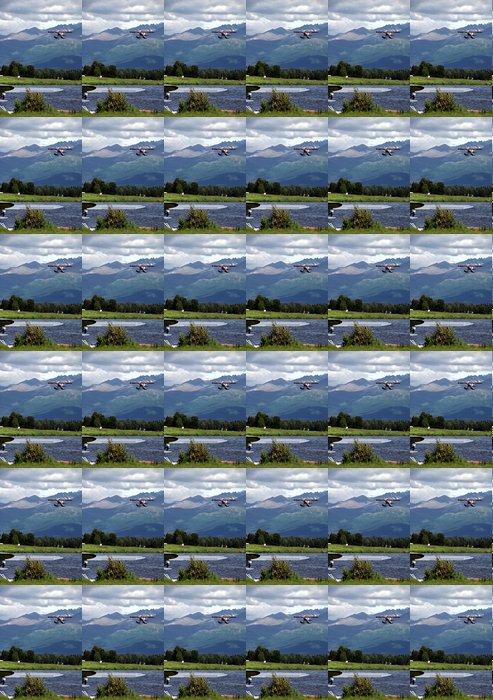 Vinylová Tapeta Red Floatplane přistání - Amerika