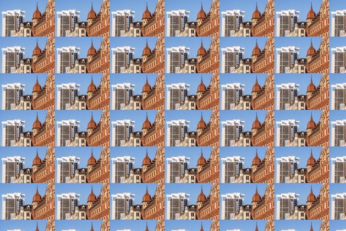 Vinylová Tapeta Mix architektonických stylů v Katovicích centra, Slezsko - Evropa