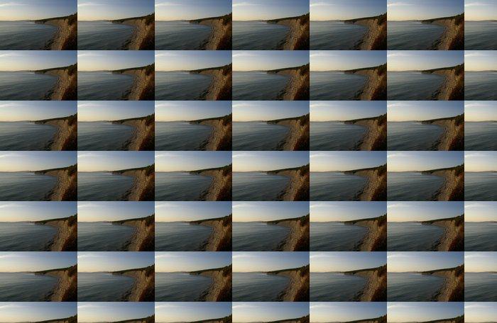 Papel Pintado Estándar Playa Montaña - Montañas