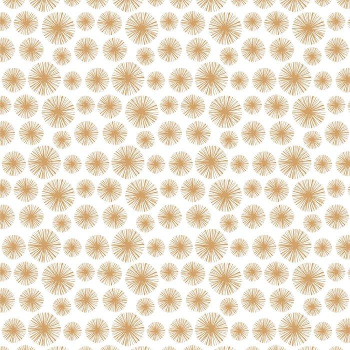 Vinylová Tapeta Etnické Boho ručně malovaná bezešvé vzory. Květinové Vintage opakující pozadí v rytí stylu pro svůj krásný design v módních barvách - Rostliny a květiny
