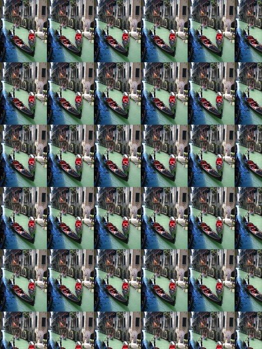 Vinylová Tapeta Gondoliér - Evropská města