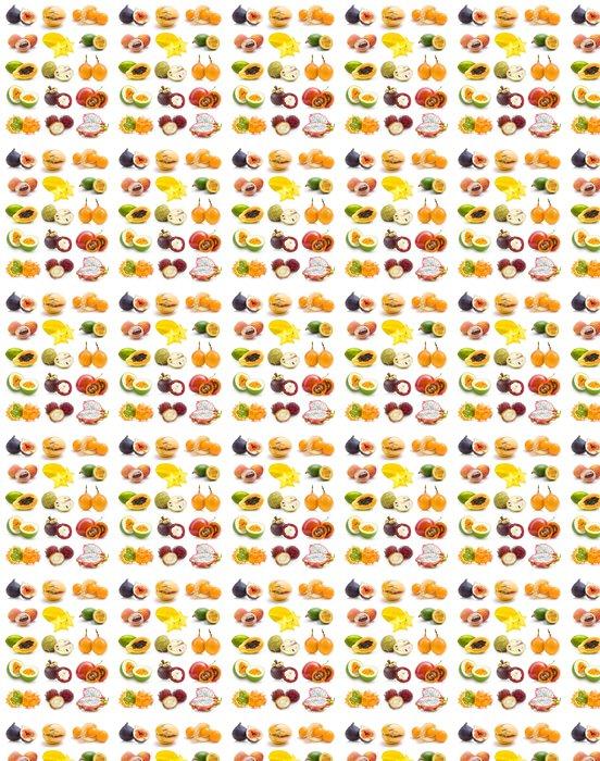 Vinylová Tapeta Exotické ovoce sbírka - Ovoce