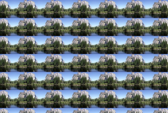 Vinyltapete Yosemite national park - Berge