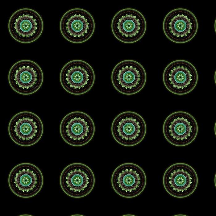 Vinylová Tapeta Mandala fraktální umění - Ezoterika