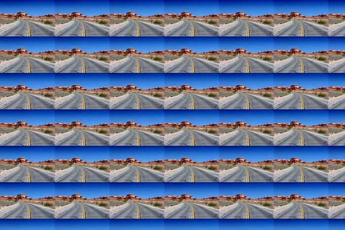 Vinylová Tapeta Utah - silnice v národním parku Arches - Amerika