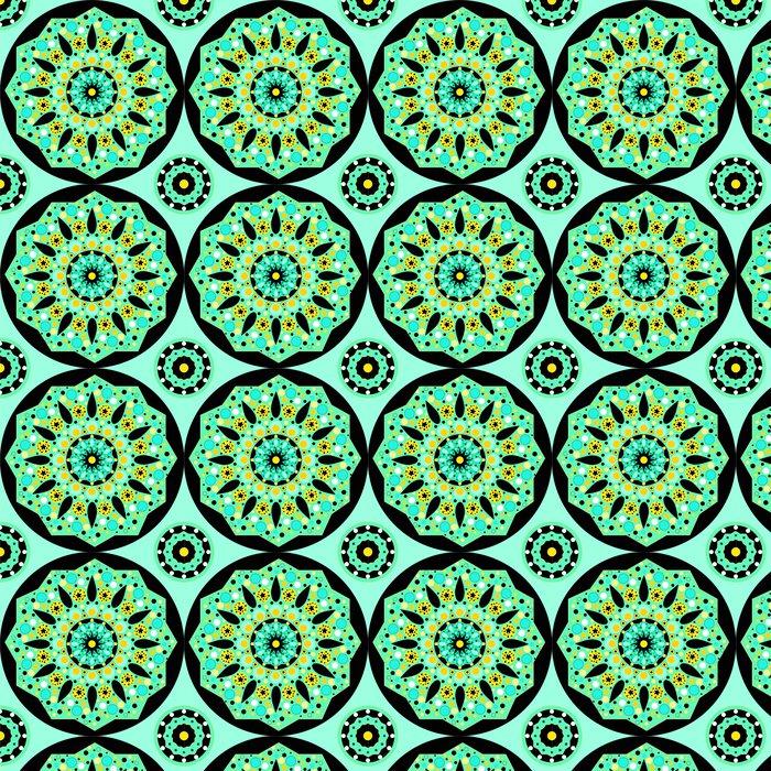 Vinylová Tapeta Mandala bezproblémové vzor vektor - Styly