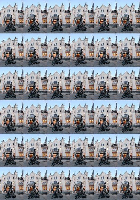 Vinylová Tapeta Pohádka socha poblíž loutkové divadlo, Ukrajině - Evropa