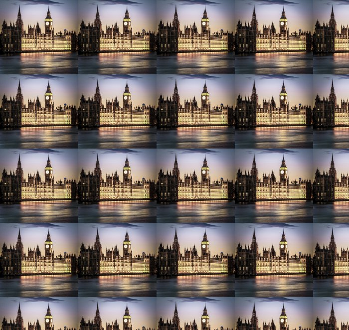 Houses of Parliament Vinyl Wallpaper - Themes