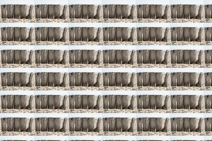 Papier peint à motifs vinyle Pont cassé - Arrière plans