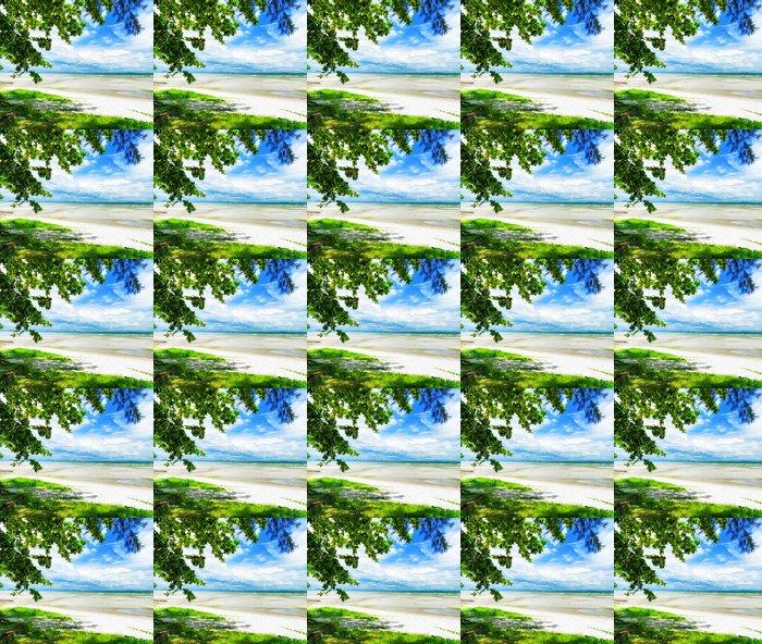 Vinylová Tapeta Krásné tropické krajiny. Samui Island, Thajsko. - Voda