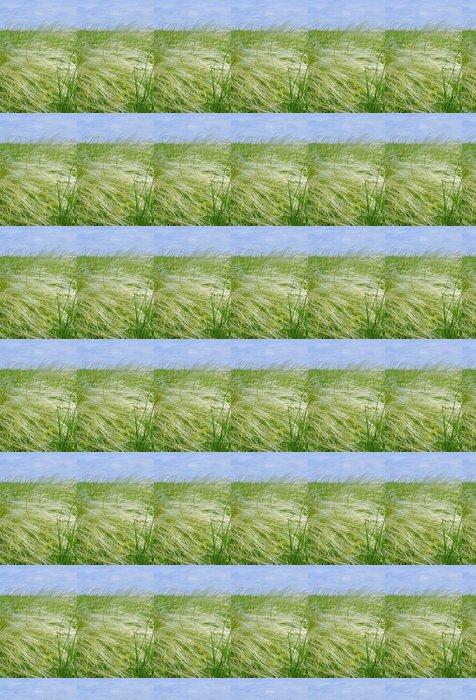 Vinylová Tapeta Peří tráva - Rostliny