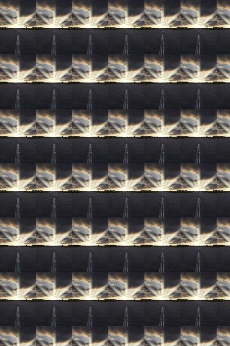 Vinylová Tapeta Runway při západu slunce - Nebe