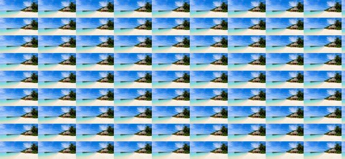 Vinylová Tapeta Panorama tropické pláže - Prázdniny