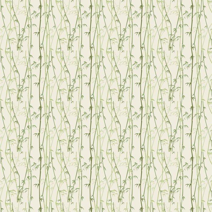 Vinylová Tapeta Bambus - Rostliny a květiny