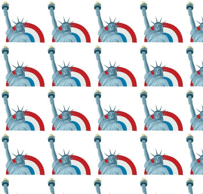 Vinylová Tapeta Socha svobody - Americká města