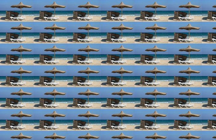 Vinylová Tapeta Odpočinek na moře - Prázdniny