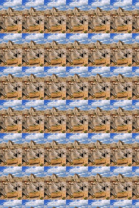 Vinylová Tapeta Badlands v Albertě, Kanada - Pouště
