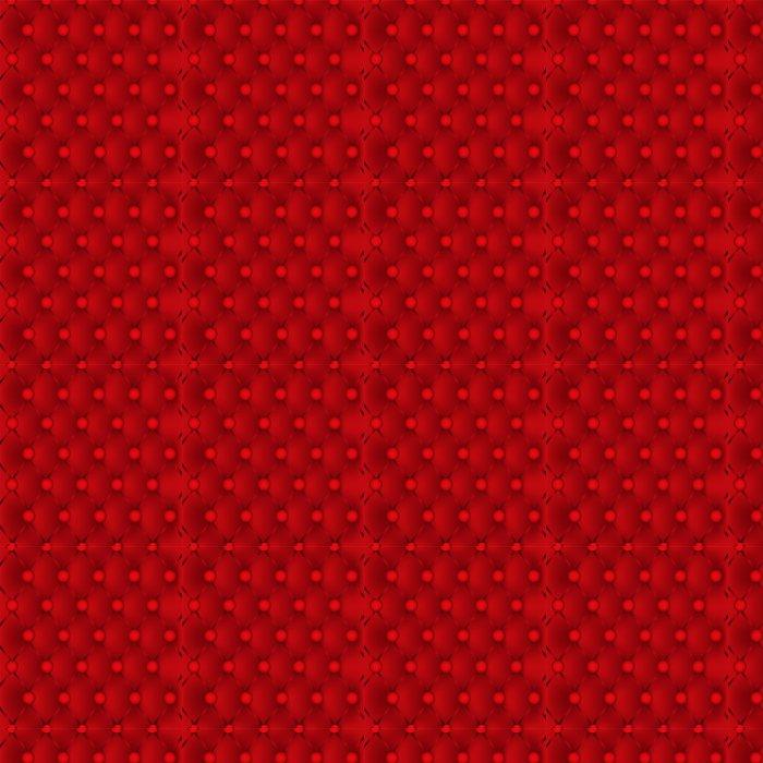 Vinylová Tapeta Pozadí kůže vzor červené čalounění. - Struktury