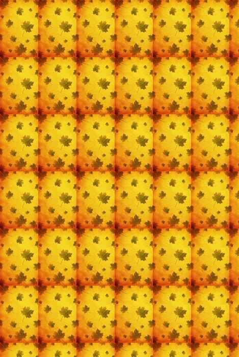 Vinylová Tapeta Podzimu grunge oranžové textury pro Váš projekt .. - Roční období