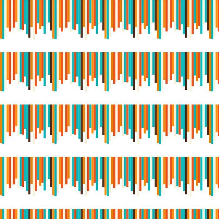 Vinylová Tapeta Bezešvé barevné pruhované pozadí - Národní svátky