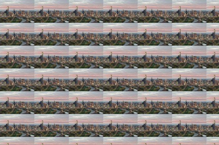 Vinylová Tapeta Letecký pohled na Melbourne - Témata