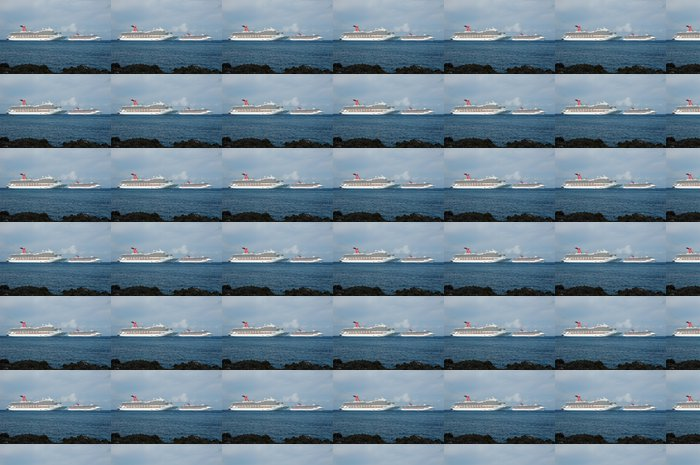 Vinylová Tapeta Dvě velké výletní lodě v přístavu exotické - Amerika
