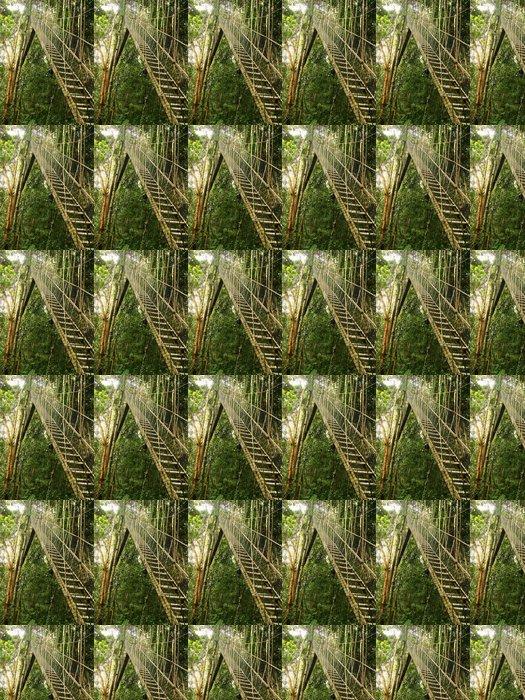 Vinylová Tapeta Canopy chodník, Národní park Taman Negara, Malajsie - Asie