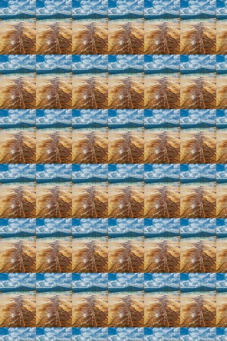 Vinylová Tapeta Hierve el Agua, přírodní skalní útvary v mexickém státě - Amerika