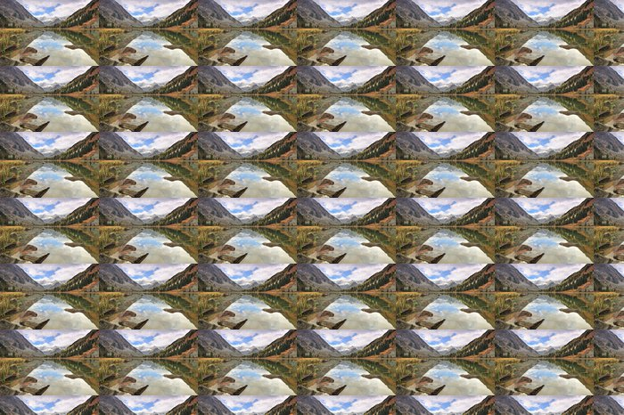 Vinylová Tapeta Mountain Lake - Hory