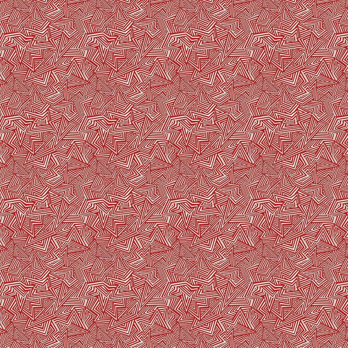 Vinylová Tapeta Bezešvé abstraktní pozadí. Bílé a červené. vektorové ilustrace - Pozadí