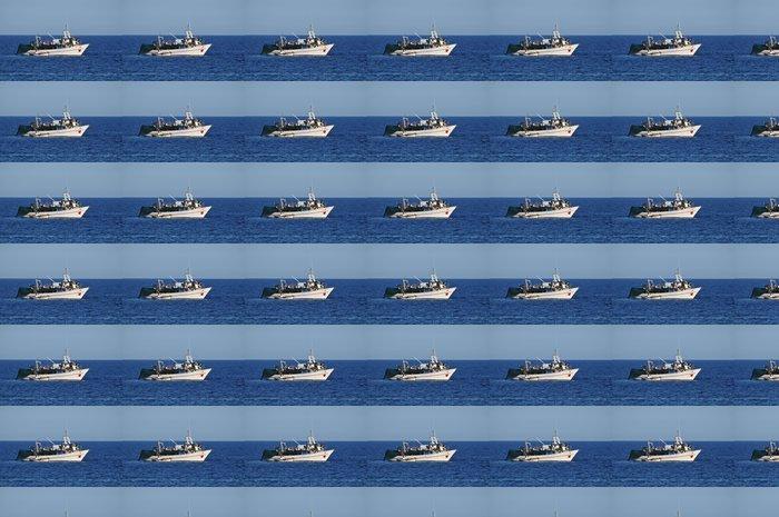 Vinylová Tapeta Rybářský člun - Evropa