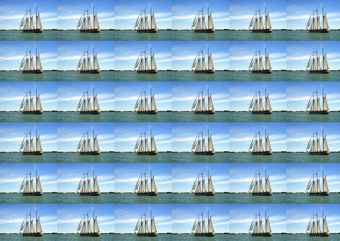 Schooner Vinyl Wallpaper - Boats
