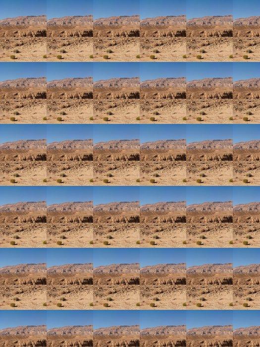 Vinylová Tapeta Desert Scenic pouštní krajiny v Machteš Katan v Negevu - Střední Východ